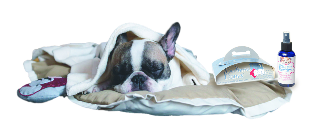 9ea78ae0 Bedtime4Dogs specializes in organic, US made, eco-friendly products to help  your pup fall asleep. Buy an EaudeBedtime and get a month of Bedtime Bones®  ...