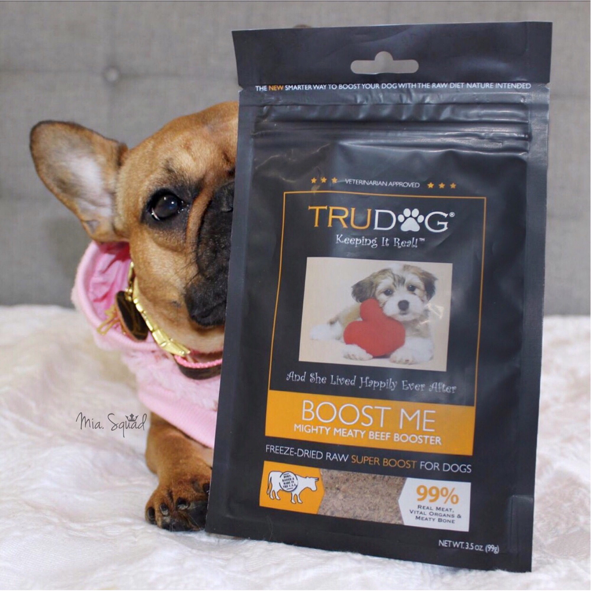 c15fc12c To learn more or order wholesome food, treats, supplements, and grooming  products for your favorite canine, visit TruDog.com.